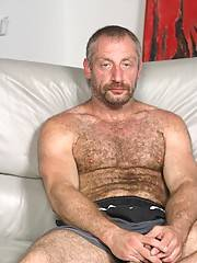 Gabriel is just dying for a little silver daddy spanking! After inviting Christian back to his place, he gets his first silver daddy out of his clothes and into the bed. Christan loves to be told what to do by guys half his age. He slides his entire mouth