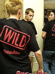 Wild guys at sex party