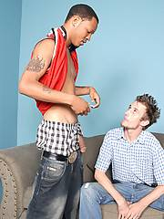 Interracial Gay Blowjob Assfucking Cums In Mouthxxx