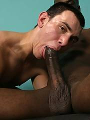 Twink Does  Interracial Blowjob Assfucking Gayxxx