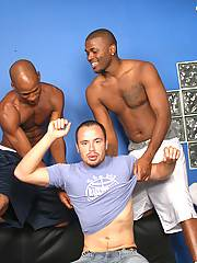 Gay White Surfer Dude Sucks & Fucks 2 Black Dicksxxx