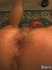 Handsome twink swallows his boyfriend's cock balls deep and gets face-fucked like a slut