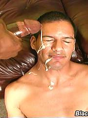 Interracial Gay Threesome Assfucking Huge Facialsxxx