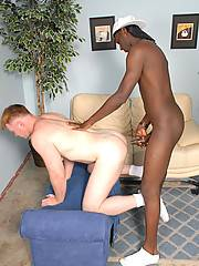 Lovely gay is thinking about unforgettable blowjob