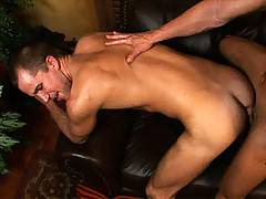 Bi-guy Tate had always dreamed of taking a huge cock in his ass, but this anal rookie had never gotten the chance...until we found him that is! Our man Justin brings in his swinging sword and before you can say