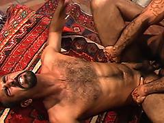 Sarib is on the bottom in a performance that will go down in the history of gay erotica! Huessein is back and takes Sarib's ass by storm. When filming this s...