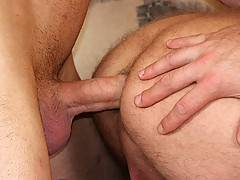 No condoms are allowed for this anal creampie scene