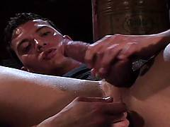 Carlos Morales and Tom Vacarro drive each other to the brink of insanity with this hot-as-fuck fisting scene featuring Carlos' perfect ass.