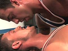Ever had a wrestling fantasy? I know I sure have, and this release featuring JD Kollin and Tamas Eszterhazy wrestling around in their skin-tight singlet's work...