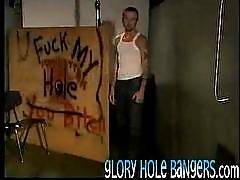 Hot men get their asses and mouths fucked hard here! Hardcore action on the other end of the gloryhole. What will happen on the other end? Click and see more! Nothing is hotter than sticking your cock in a strange unknown hole and waiting for the warm wet