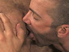 We here at HairyBoyz don't think you could have got a couple more evenly matched than Bruno Bond and Junior Stellano. Both have the most amazing muscled arms, ...