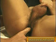 Asian gay porn video gallery with lots of Asian Finger Fuck
