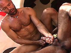 Huessein spies JC who is a lean hairy stud with a great cock and ass. Huessein takes charge once again, and delivers another round of prime fucking. This is sim...