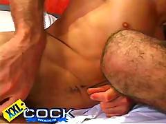 Arnold and Henrique get together for some hot big cock action gay sex