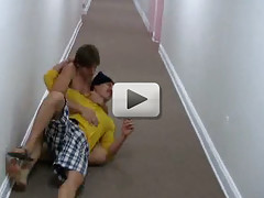 Hot straight college guys getting drunk and fucked!