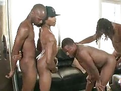 Hot gay ebony stallions getting it on in some sexy group action. All of these well hung black guys are fucking some ass and sucking dick! Unlimited downloads of gay ebony group action and gangbangs inside. These cocks are milked until every last drop of t