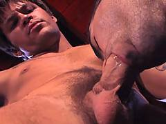 Ok, this is a pairing to loose a load over guys! Brodie Sinclair and Roman Ragazzi face off in a wrestling match of muscle and hard cock. As Roman gives into Br...