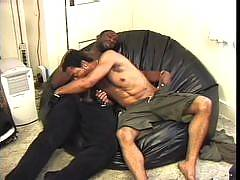These horny black gay hunks can't get enough of each other! Watch them as they enjoy some hardcore action! They do anything and everything to each other.