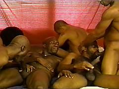 Now this is what a real thug orgy is all about - big black men - nasty attitudes and a hunger for hardcore, group sex! Things might start off all light hearted,...