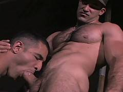 Big dick meets big hairy body when Luke and Roman join forces. Luke starts off by going down on Roman's dick and he, in turn, worships Luke's huge cock with h...