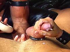 Steve Hurleys ass gets slammed full of big stiff cock by Dale West