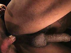 Orlando Toro takes control of Kamrun's ass, fucking as hard as humanly possible ! Toro's hairy chest is a thing to admire, and Kamrun's mammoth uncut cock st...