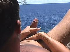 Young Jason Crew has a huge, 10 inch cock, but not only is he hung like a horse; he's also totally hot, with college guy good looks and beautiful blue-green ey...