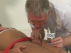 After eight hot scenes, Henderson Marron joins forces with Sebastian to take control of our newest play-thing, Aiden Cole. Aiden - a shy, southern boy with a massive 9-inch cock - is forced down and tied up before both Henderson and Sebastian get physical