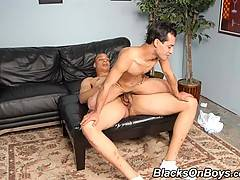 Young Interracial Gay Couple Blowjob Assfuck Jerkxxx