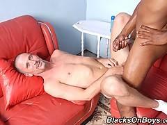 Young Interracial Gay Couple Blowjob Assfuck Jerkxxx
