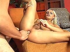 We know Thays has taken many a hot cock in her day, but surely even this experience shemale must have felt the gaping hole that Ricco leaves after shoving his rock solid monster cock up her hole. Like a true trooper, she takes it like a pro and seems to l