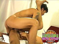 Fucking asian boys are hot twinks that love anal action