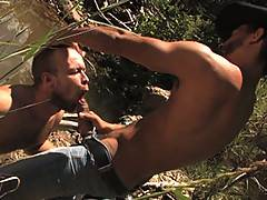 Watching Antonio Biaggi and hairy Scott Campbell fuck in the beautiful Arizona wilderness is just one reason why To The Last Man is a must own DVD.  When Scotts...