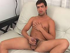 Cum, Cum Everywhere! Mateo is one amateur who sure knows how to shoot a big load.  His delicious jizz shoots out of his big dick after he gets naked and furious...