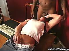Muscular Blond Gay Interracial Blow Assfuck Facialxxx