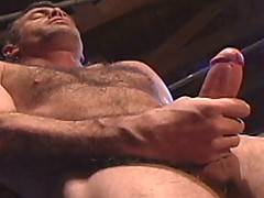 Wow what a cock this new-comer has! Grayson Hurst scorches up the screen with his sports jock look, in this solo video. Grayson has a firm, hairy torso and is g...