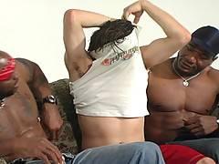 Interracial Gay Threesome Assfucking Huge Facialsxxx