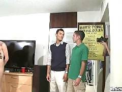 Just how far are these guys willing to go to join their fraternity? They are going to get hazed by their frat brothers by engaging in the most explicit gay sex. These straight guys are getting their virgin assholes pounded and violated in these explicit h