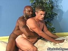 Interracial Gay Threesome Assfucking  Facialsxxx