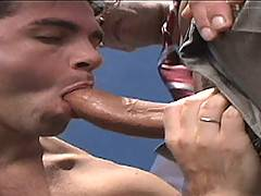 Justin Christopher is the big dicked star of scorching two-way that becomes a three-way. Driving along Heatstroke Highway his car calls it quits, Christopher ab...