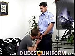 Is there anything hotter than a buff gay man clad in a sexy uniform? Catch all these studs as they slide into uniforms like military outfits, construction workers, firemen, police officers and more, and slide out of them at Dudes in Uniform. Not only do t