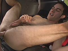 This is Tan Benders first ever performance. He really knows how to show off for the camera--and what is better than a bottom being plowed with a huge, hard cock...