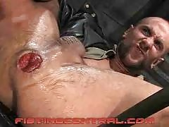 The most brutal and dirty gay fisting site youll ever come across. These guys are taking arms all the way up inside their tight assholes. See them get stretched open wide with their fists going all the way inside each other. Lube them up nice and thick an