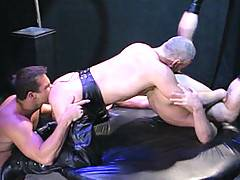 This video begins with Josh West licking the head of his own impossibly large cock. Its amazing to see such a big, brutal muscle god bent into this impossible p...