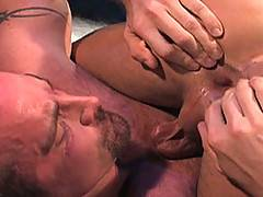 One look at this video and youll wish you were there to burry your face into these hairy hunks chests, there to lick every hair covered muscle! Blake Nolan and ...