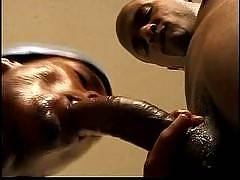 These dark meat studs are getting it on together in some hot gay ebony action! See real black stallions deepthroating cock and getting some hard anal reamings. All black on black gay action that features some of the sexiest ebony guys with the hugest mons