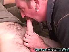 The younger guys inside the site are experiencing their first daddies! These gray haired dudes are giving a fucking to these younger studs like they've never had it before. Years of experience has helped them turn into a fucking machine! Sexy hardcore ana