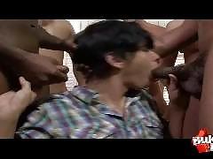 Extreme Bareback Bukkake Parties - Exclusive Non-Stop Amateur Gangbangs!